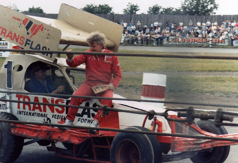 Stuart Smith BriSCA Formula One stockcar driver